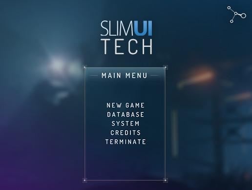 SlimUI - Tech Menu