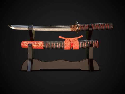 Samurai sword tanto No.03