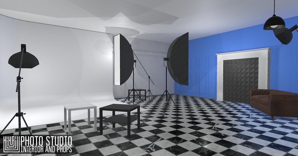 Photo studio - interior and props