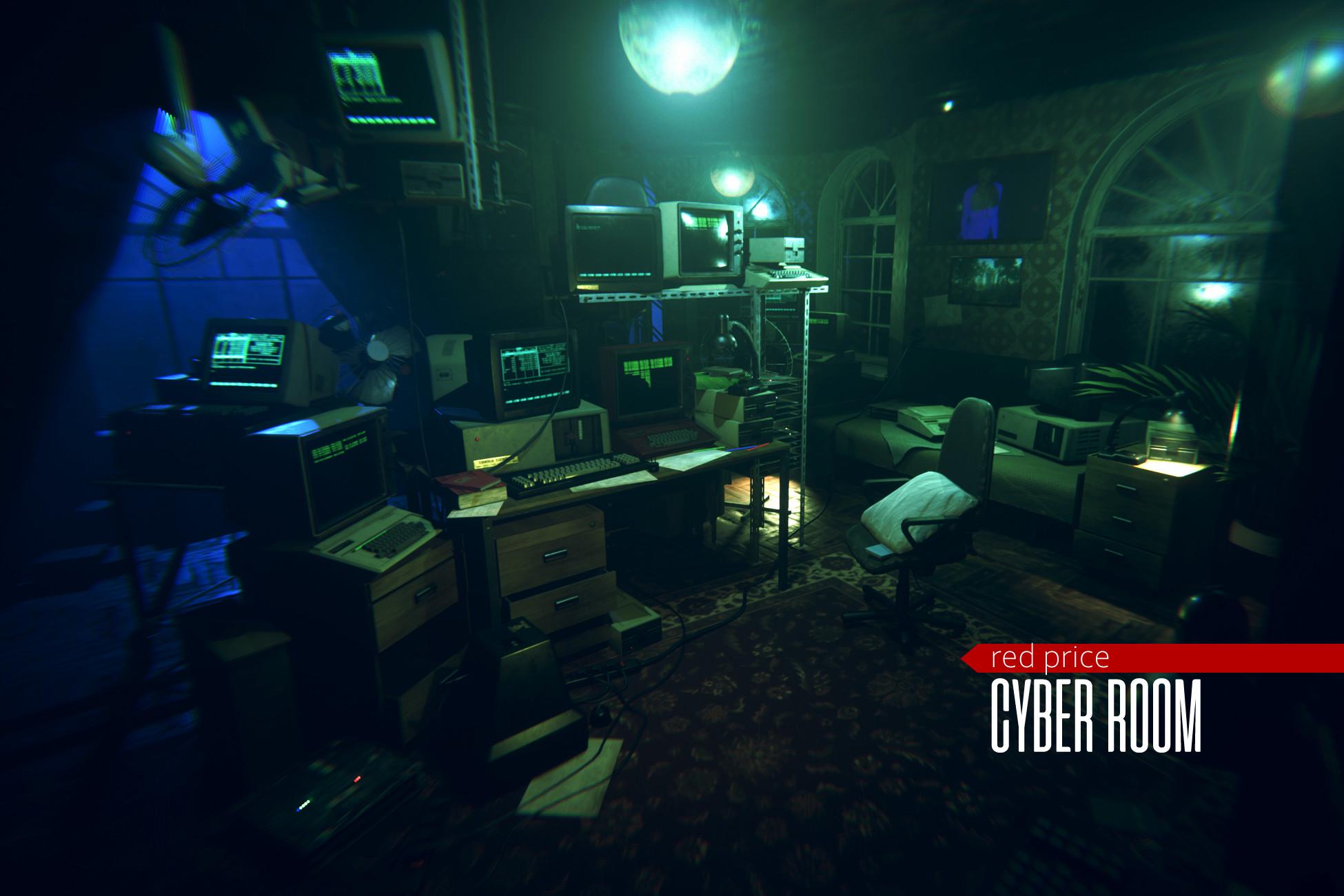 cyberpunk - Cyber Room