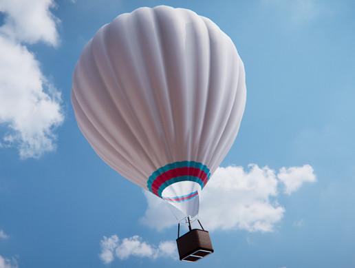 PBR Hot Air Balloon