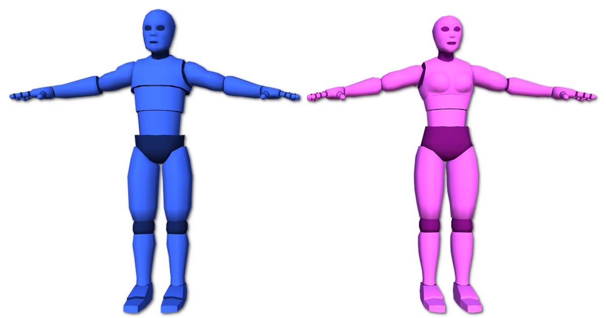 3D Character Dummy