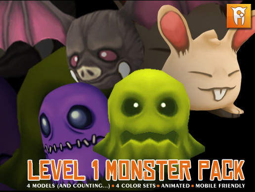 Level 1 Monster Pack