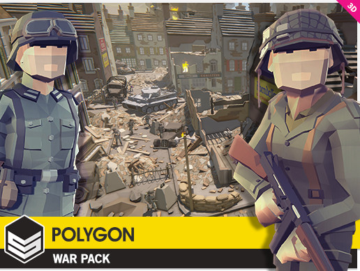 Unity 3D - POLYGON - Pirates Pack by Synty Studios