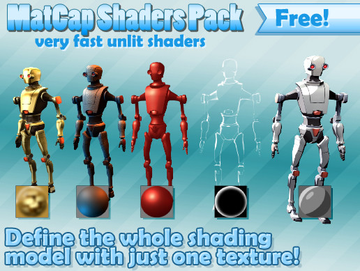 Free MatCap Shaders
