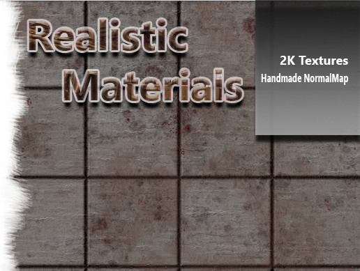 Realistic Building Materials Pack