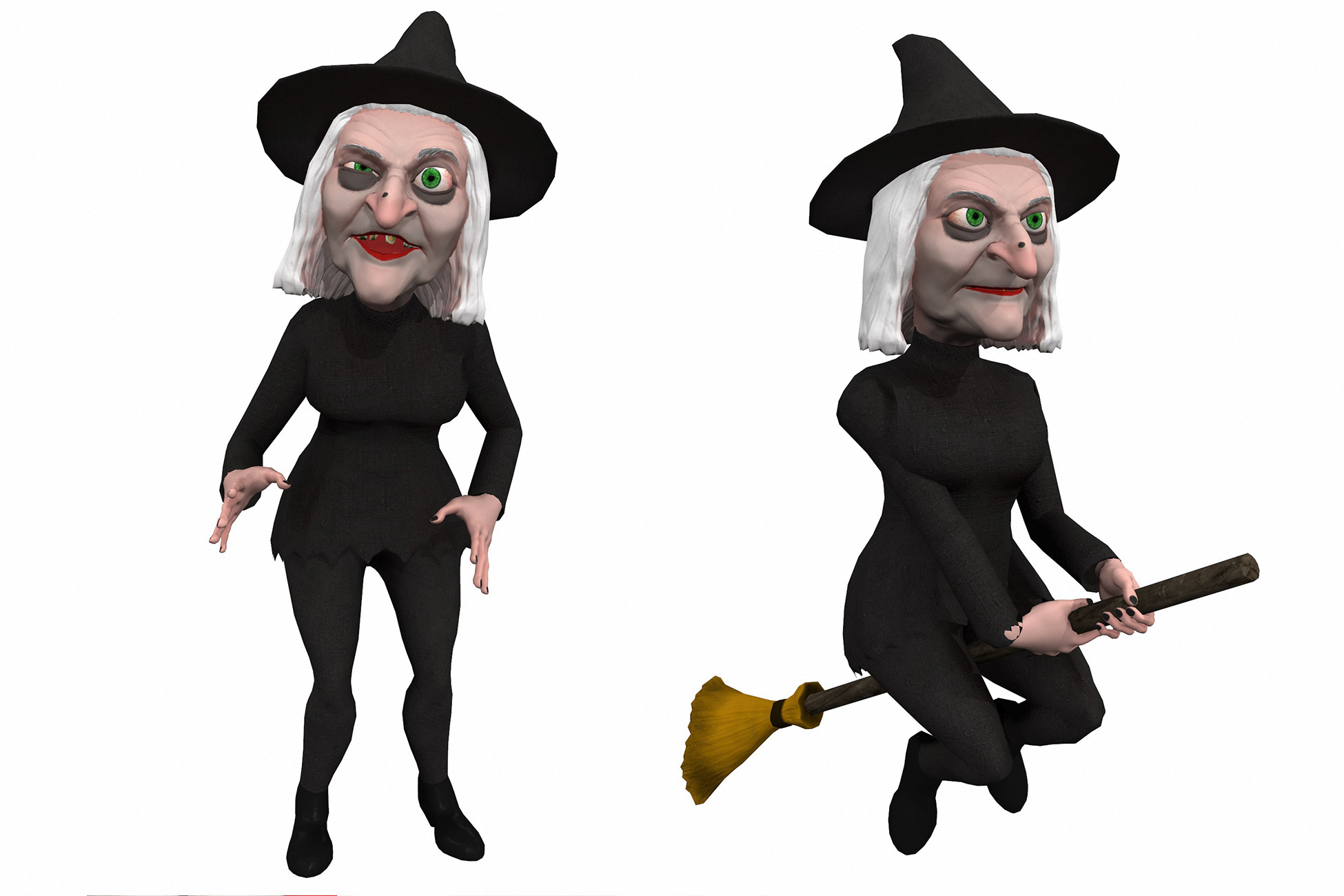 Cartoony Witch