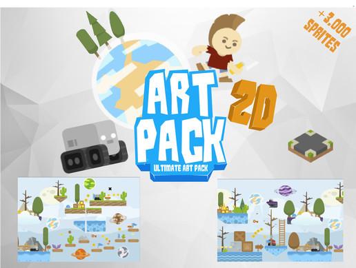buildbox art pack download free
