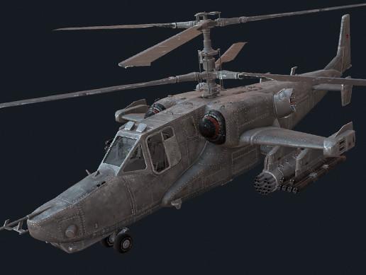 KA-50s