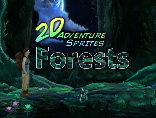 2D Adventure Sprites: Forests