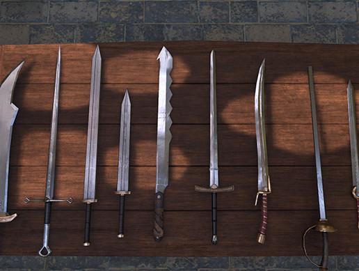 30 Fantasy Paladin Weapons