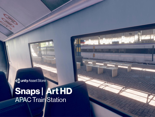 Snaps Art HD | Train Station