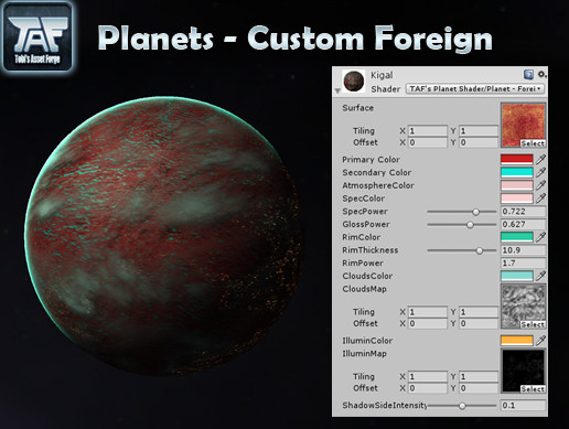 Planets - Custom Foreign