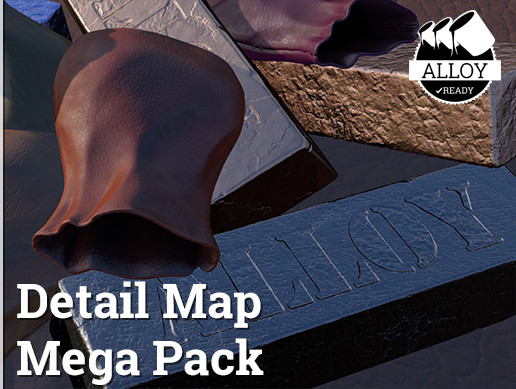 Alloy Detail Texture Mega Pack
