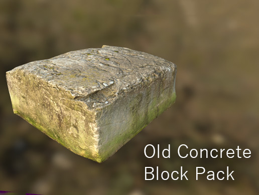 Old Concrete Block Pack
