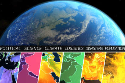 Geopolitical Earth Planet