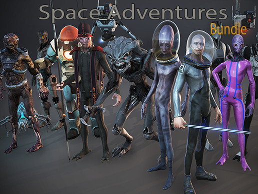 Space Adventures - Creatures Bundle