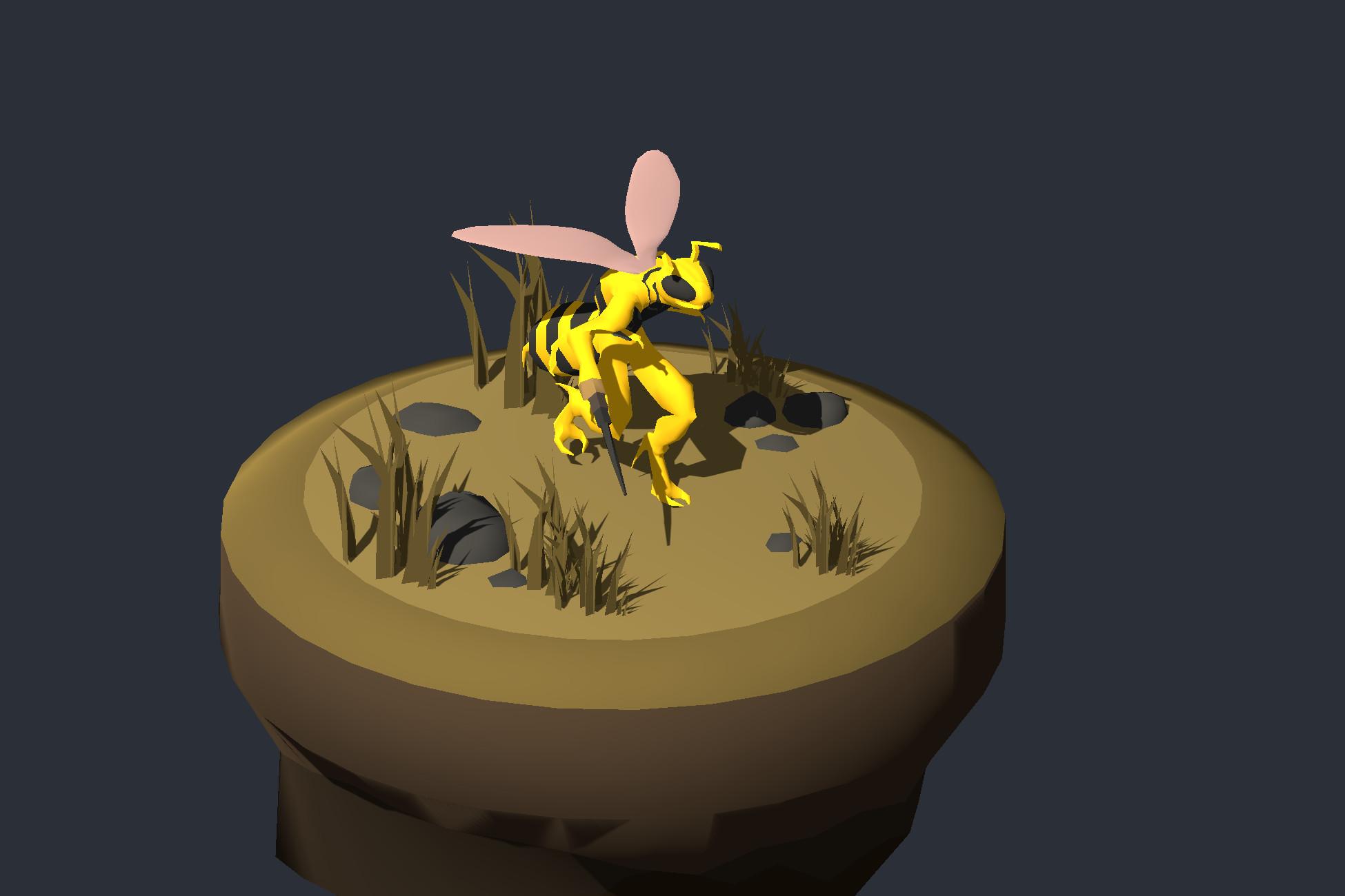 Warrior Bee 1 - Medieval Fantasy