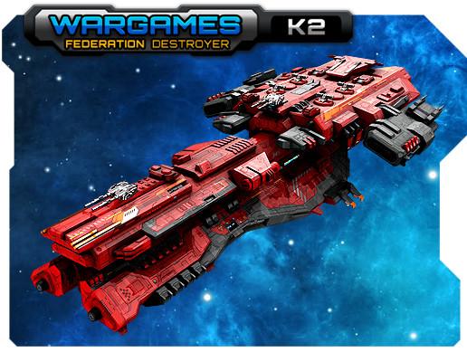 Federation Destroyer K2