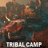 Tribal camp