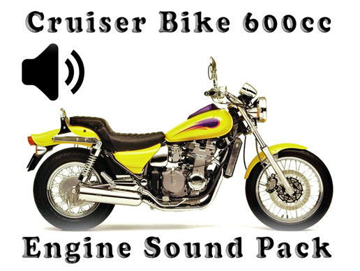 Cruiser Bike 600cc - Engine Sound Pack