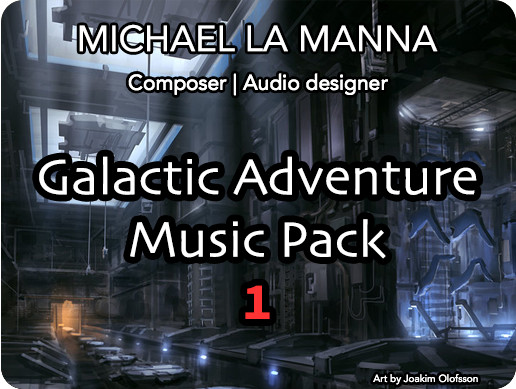 Galactic Adventure Music Pack 1