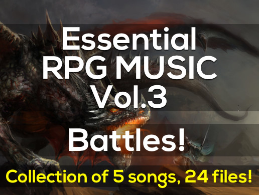 Essential RPG Music Vol.3 Battles