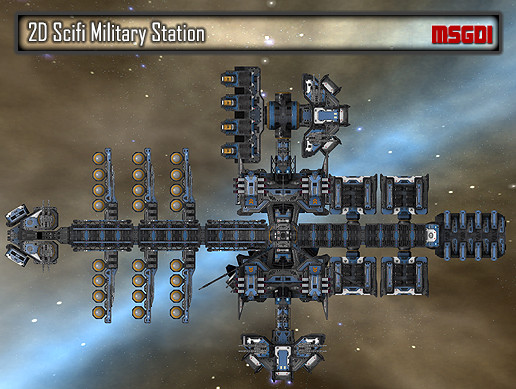 2D Military Station