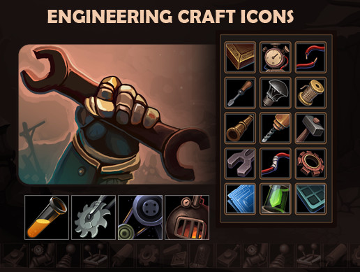 Engineering Craft Icons