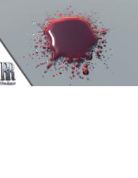 Blood drips and Paint Splats Shader