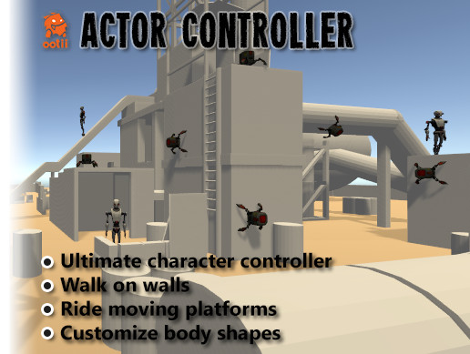 Actor Controller - An advanced character controller