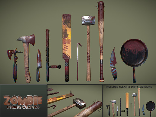 Zombie Horror Weapons