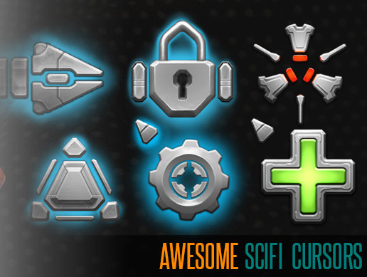 Awesome SciFi Cursors