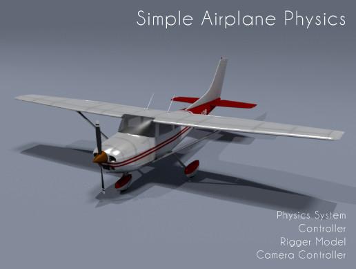Simple Airplane Physics Toolkit - Lift, Drag, Thrust