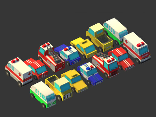 [M]Lowpoly Cars