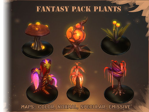 Fantasy Vegetation Pack