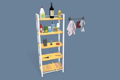 Kitchen Accessories PBR