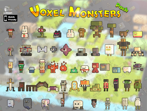 Voxel Monsters Pack