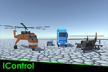 IControl - Easy Mobile Car and Helicopter control