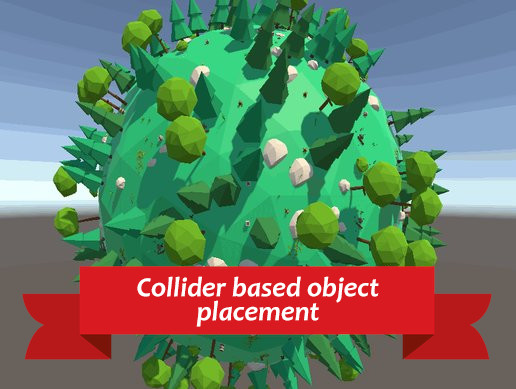 Collider based perfect object placement system