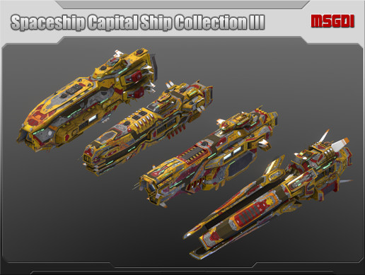 Spaceship Capital Ship Collection III