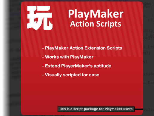 PlayMaker Extension Action Scripts