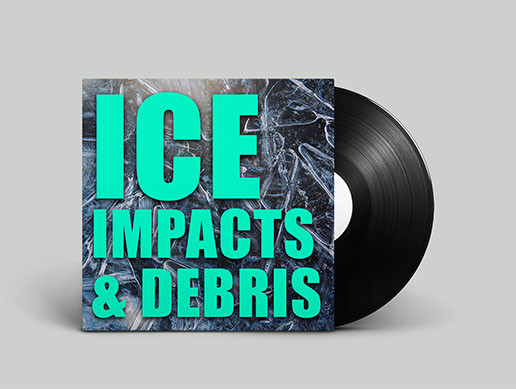 Ice Impacts and Debris