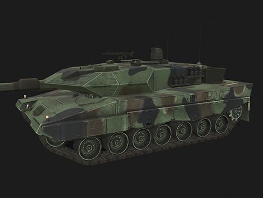 Tank Leopard 2A5