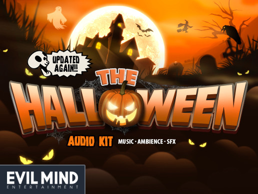 Halloween Audio Kit (Music + Ambience + Effects)