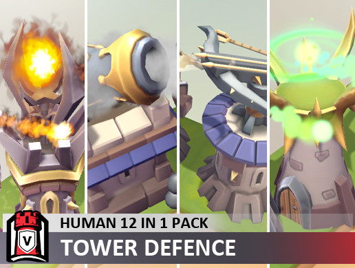 Human 12 in 1 pack