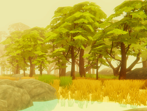 Low Poly Fantasy Forest Pack