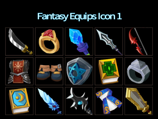 Fantasy Equips Icon 1