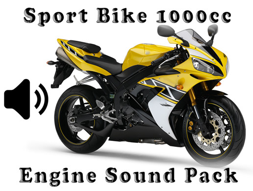 Sport Bike 1000cc - Engine Sound Pack