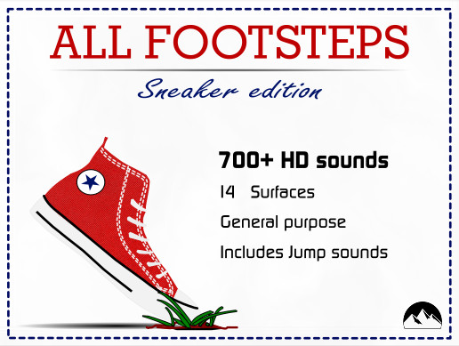 All Footsteps : Sneaker Edition